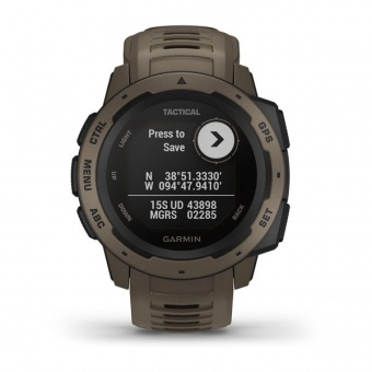 Часы Garmin INSTINCT Tactical коричневый